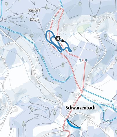 Karte / Hellewand Spur