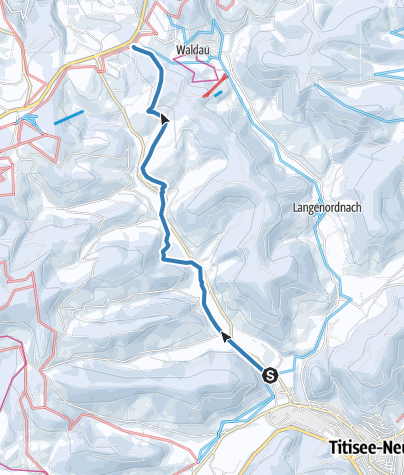 Karte / Jostalspur