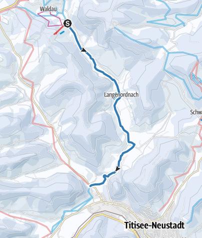 Karte / Langenordnachspur