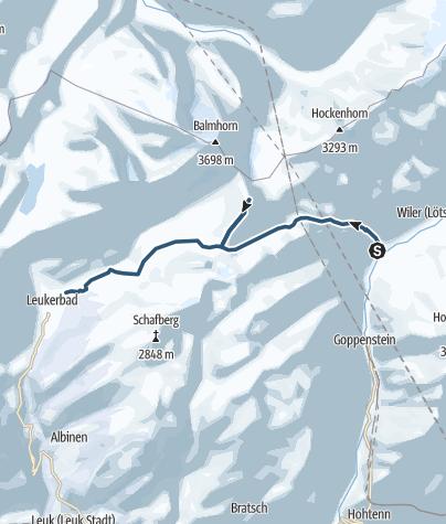 Map / Ferdenrothorn