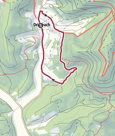 Karte / Dernbach - D3 Panoramaweg