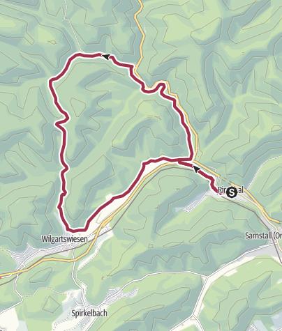 Karte / Rinnthal - Triftweg