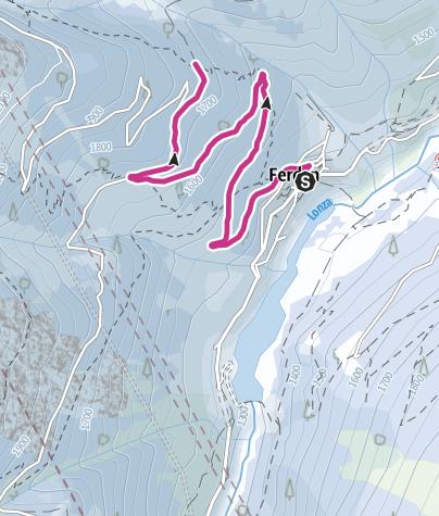 Karte / Der Friedliche: Rundwanderung Eistli