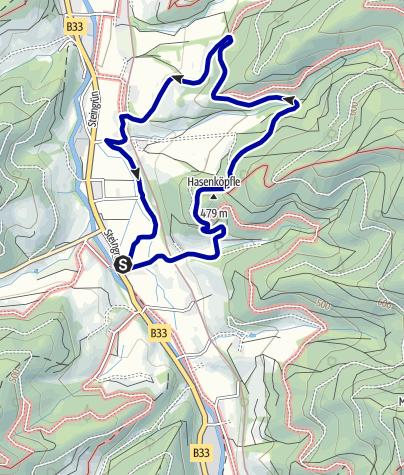 Karte / Gutach - Lehmbauern Bühl