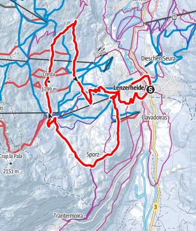 Map / 202 Tgantieni Trail