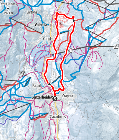 Karte / 204 Val Granda