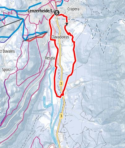 Map / 205 Cresta Stgoira