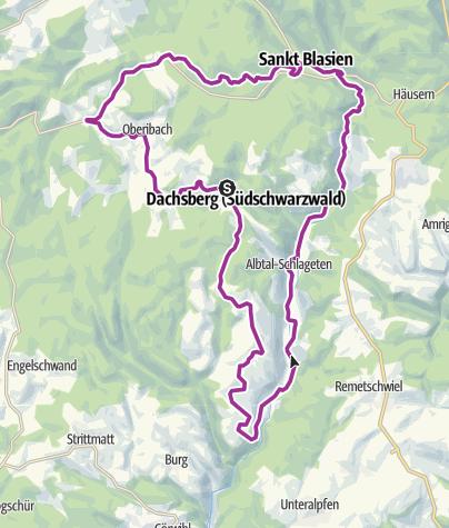Karte / Dachsberg-Ibach: E-Bike- oder Rad-Tour