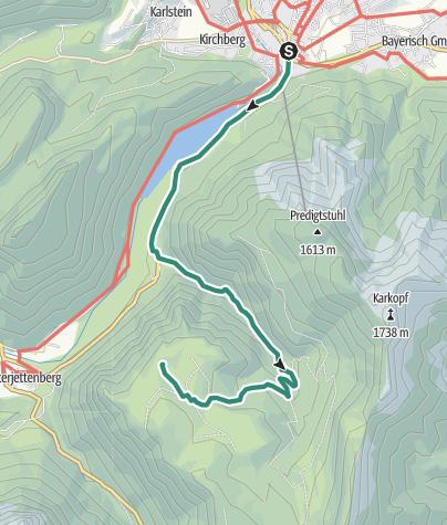 Karte / Anthauptenalm