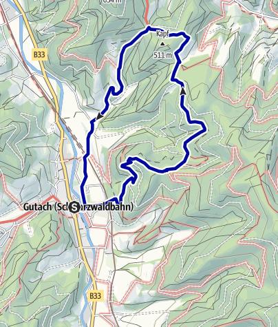 Karte / Große Mosersteinrunde
