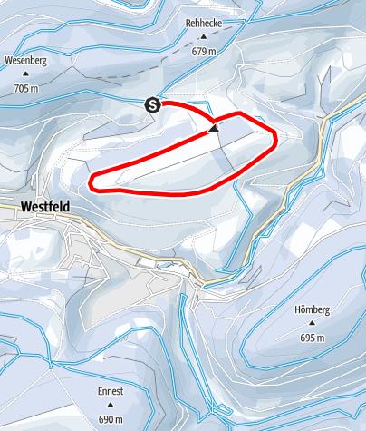 Kaart / Heidfeld-Loipe