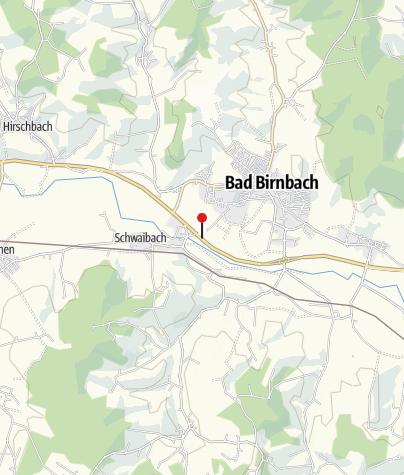 Karte / Infotafel Lebensraum Auwald