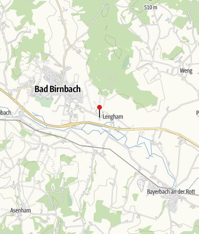 Map / Bus Stop: Lengham, Arterhof/Campingplatz