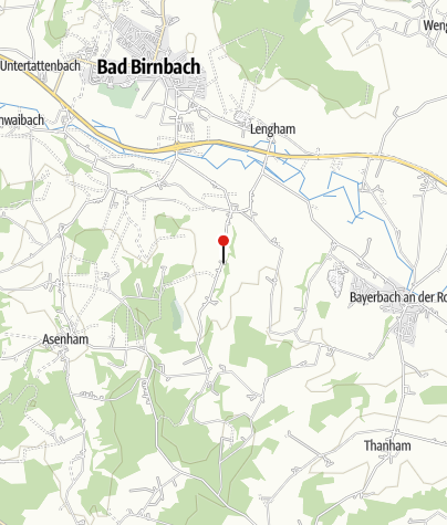 Karte / Bushaltestelle: Oberndorf bei Bayerbach