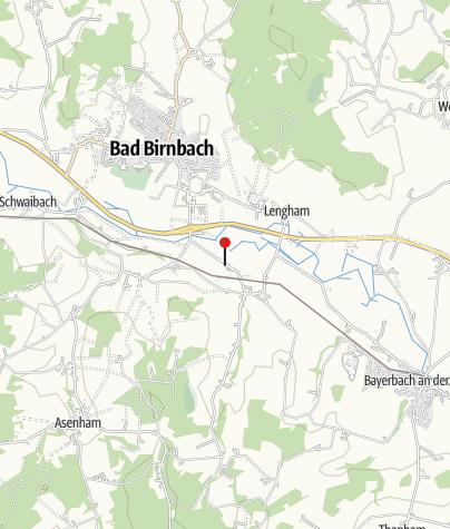 Karte / Bushaltestelle: Luderbach, Hs Nr 34