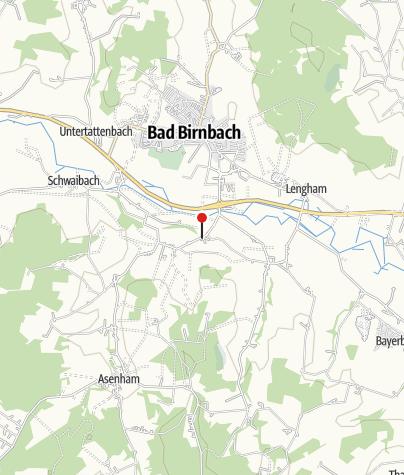 Map / Bus Stop: Edmühle bei Bad  Birnbach