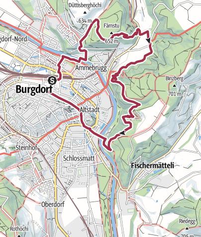 Map / «dr'Gysnauer»