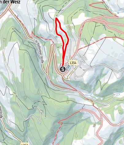 Karte / Hinterkirchner-Runde  St. Kathrein/Offenegg