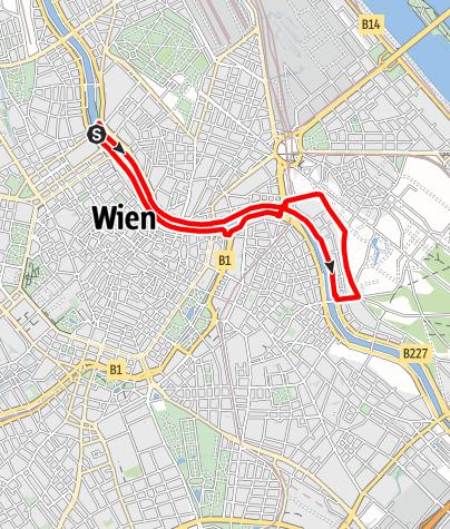 Karte / Wiener Städtische Runde