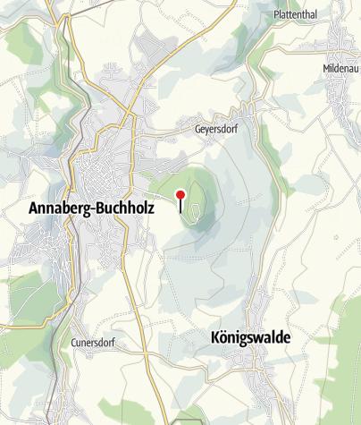 Karte / Annaberg-Buchholz, Butterfässern