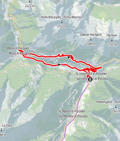 Map / Bike tour to Stulles/Stuls
