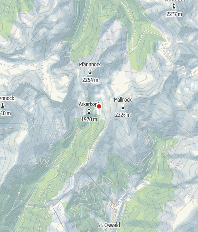 Karte / St. Oswalder Bockhütte