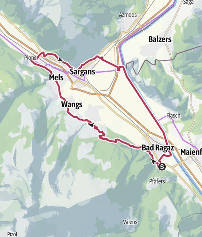 Karte / E-Bike Vilterserberg