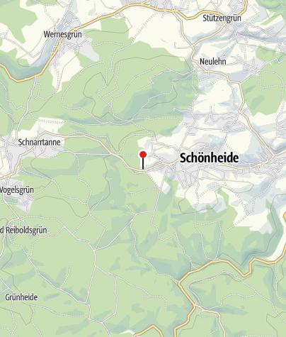Karte / Stellplatz Hotel Forstmeister Schönheide