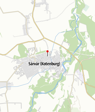 Karte / MOL kút (Sárvár, Vágóhíd u. 1.)