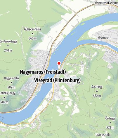 Mapa / MOL kút (Visegrád, 11.sz.fkl. út)