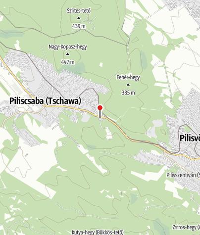Térkép / MOL kút (Piliscsaba, 10-es főút)