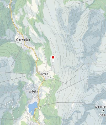 Karte / Alpkäserei Parpan