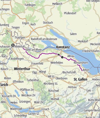 Map / Seerücken-Route