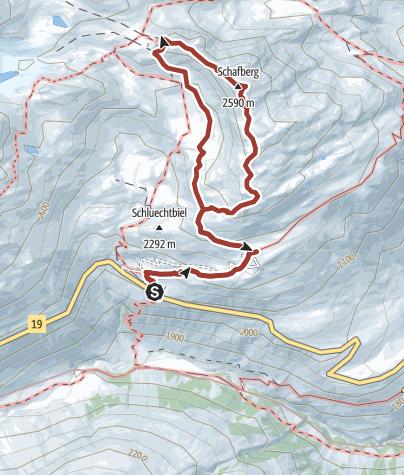 Map / Familienwanderung Albert-Heim-Hütte