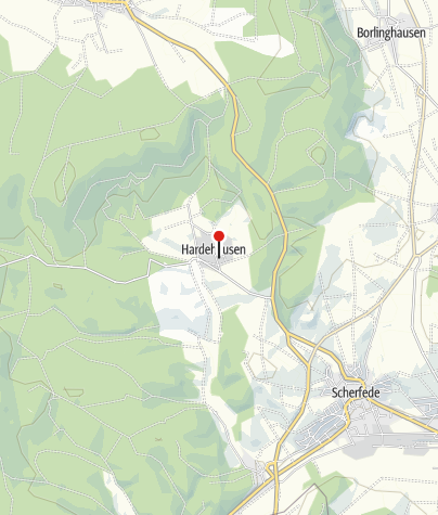 Kaart / Klosteranlage Hardehausen