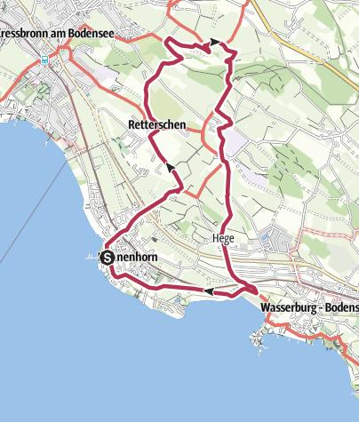 Karte / Rundweg zur Antoniuskapelle