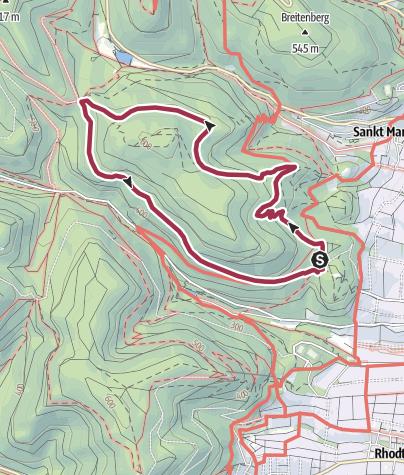 Karte / Edenkobener Rundweg 1
