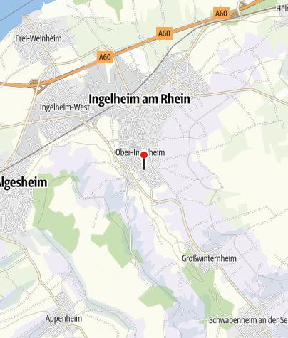 """Map / Gutsausschank """"Zum Kuhstall"""" im Weingut J. Bettenheimer"""