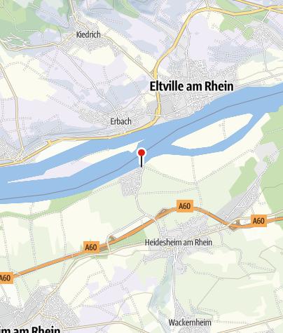 """Map / Wein- und Biergarten """"Inselrhein Heidenfahrt"""""""