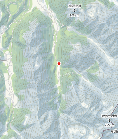 Map / Crossing the Alps by foot – My journey from Oberstdorf to Meran
