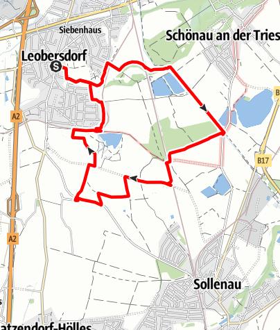 Mapa / Große Runde über Dornau und Heilsamen Brunnen