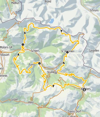 Karte / 330 Panorama Ride