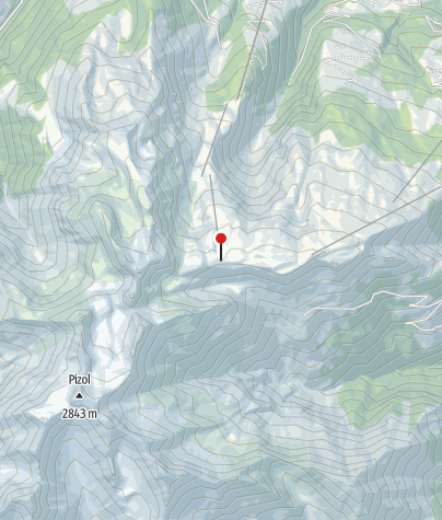 Map / Bergrestaurant Pizolhütte