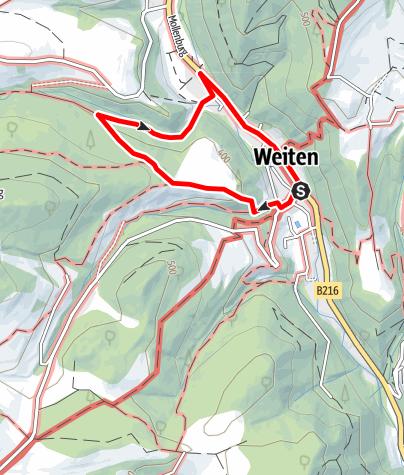 Map / Dr. Jörg Mauthe-Rundweg