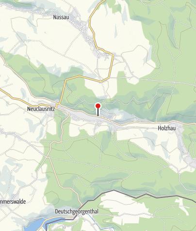 Karte / Öko-Bad in Rechenberg-Bienenmühle