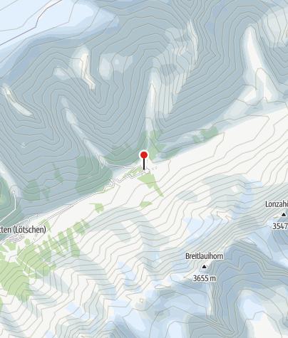 Karte / Gasto & Camping Fafleralp