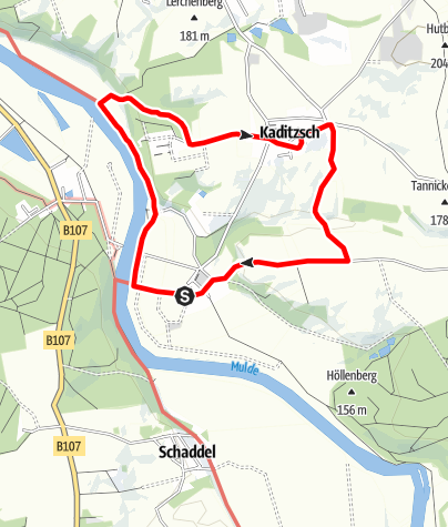 Karte / Dorfspaziergang Höfgen