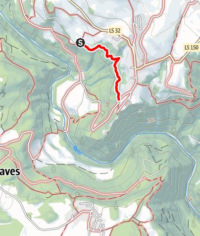 Kaart / Ywein-Weg