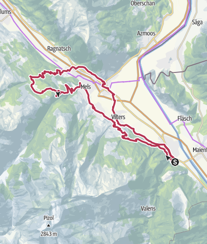 Karte / E-Bike Chapfensee