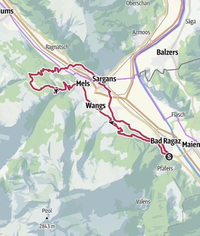 Map / E-Bike Chapfensee